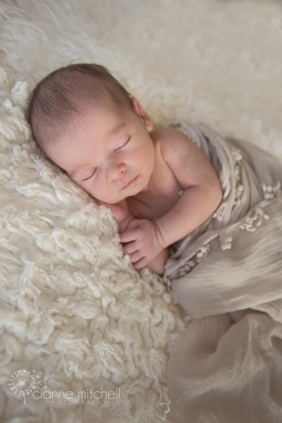 Natural baby photography